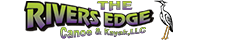 The River's Edge Text Logo